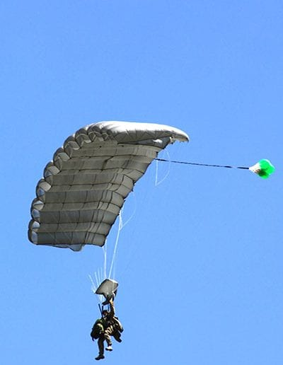 Heavy Load Tactical silver parachute
