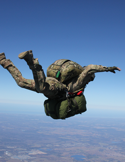Heavy Load Tactical solo freefall