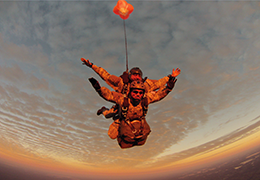 Heavy Load Tactical tandem skydive