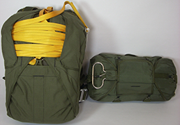 Invasion II Personnel packed chute