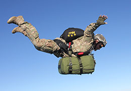 Light Load Tactical solo freefall