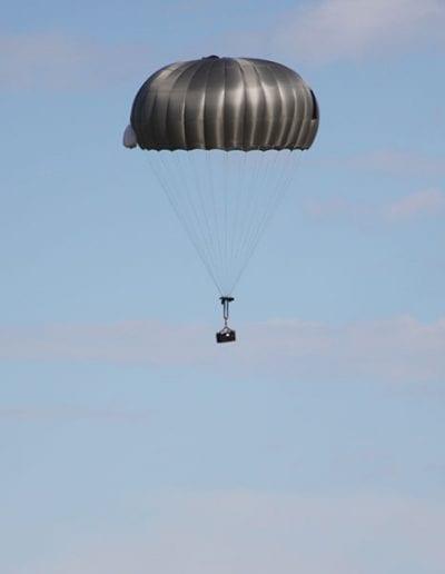 G10 Cargo parachute descending