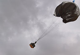 Black G 12 Cargo parachute