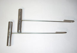 A pair of Packing Hooks
