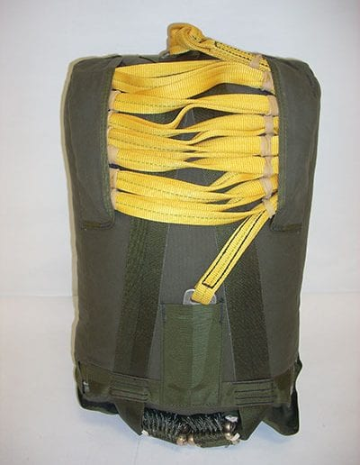 Hang Up Rescue Parachute container