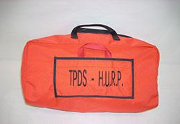 Hang Up Rescue Parachute orange carry bag