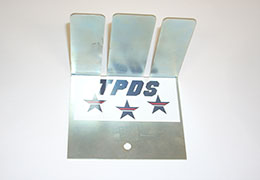 A Line Separator with TPDS decal