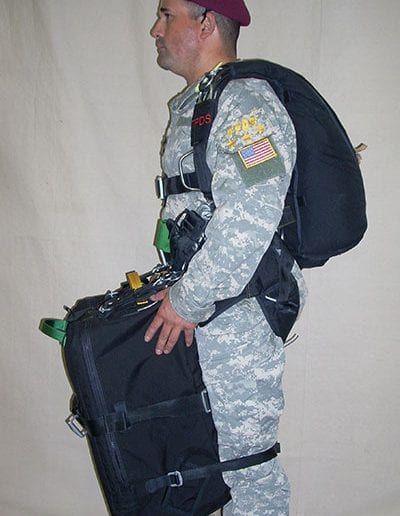 Man posing with Light Load Tactical in low front position