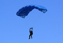 Light Load Tactical reserve parachute