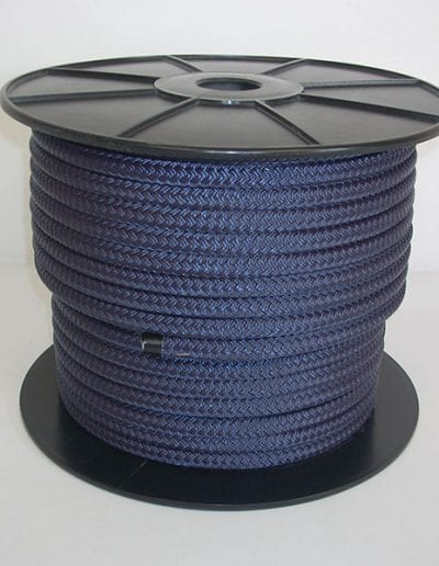 Spool of blue Drying Tower Rope